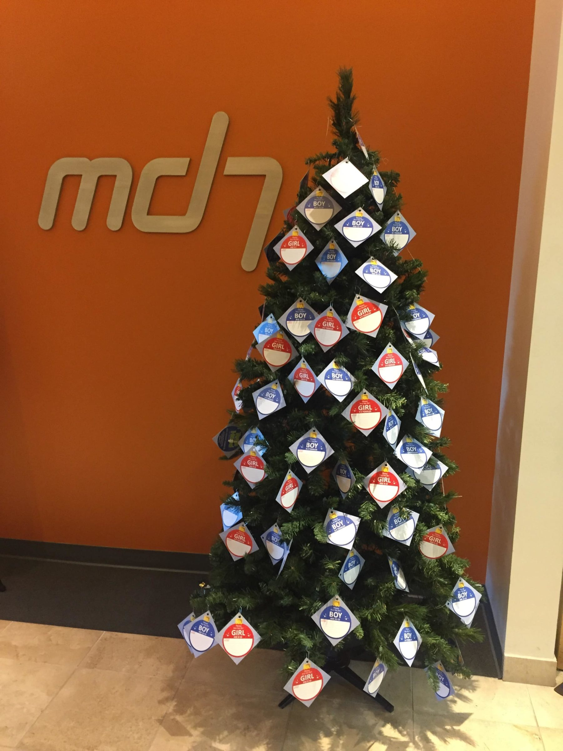 Md7 2016 Toy Drive before