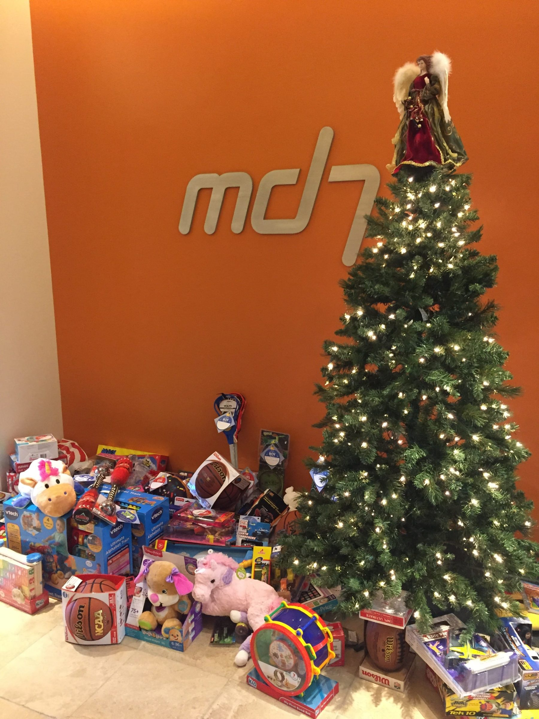 Md7 2016 Toy Drive after