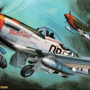 "P-51D MUSTANG ""Man O'War"" MODEL KIT - LIMITED EDITION"