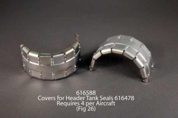 616588 AVIMO COVER FOR THE P-51 D MUSTANG HEADER TANK