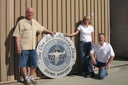 Pioneer Aero Service Staff